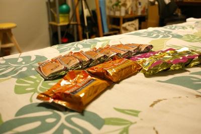 2011珠洲大会向けの補給食