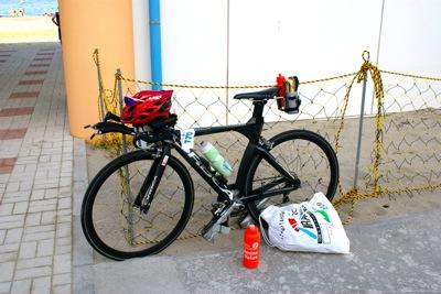 レース前の装備
