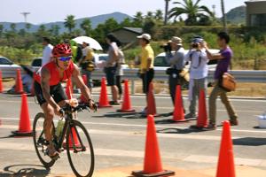 2010トライアスロン伊良湖大会バイク2